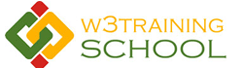 W3training School
