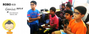 Digital Buddha at Indira Nagar - students speak photo_7230