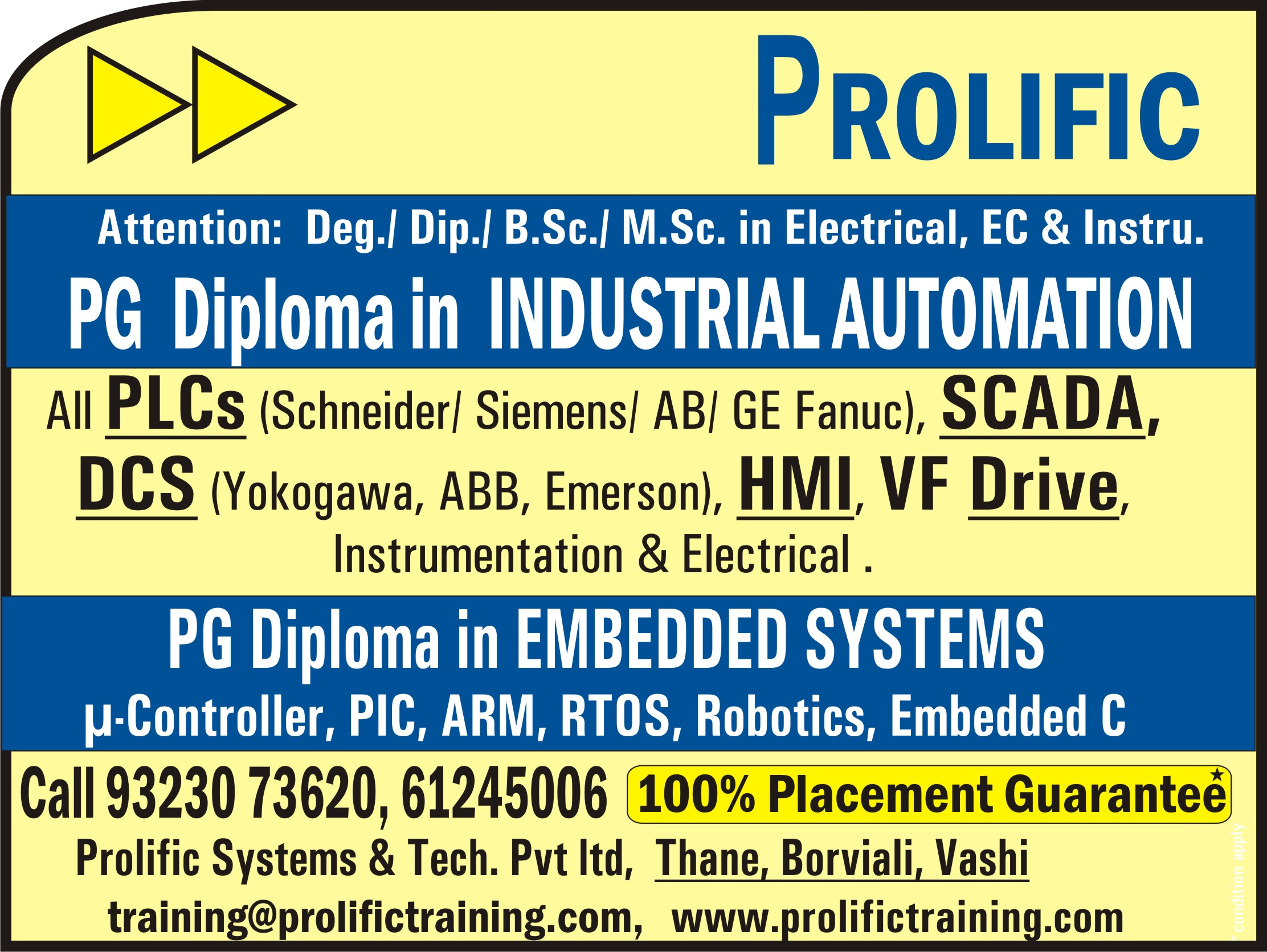 Plc training training in mumbai by prolific systems technologies omk8tautomation mumbaig 1betcityfo Image collections
